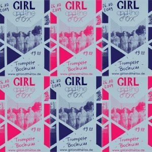 GirlandtheFox Plakate
